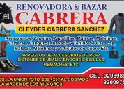 """Renovadora & bazar """" cabrera """""""