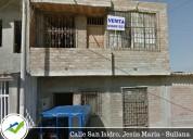 Casa de dos pisos sin acabados -sullana