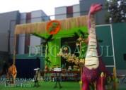 Decoraciones para fiestas infantil dinosaurios -
