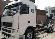 Volvo fh 12 460hp camion chasis largo 6x2