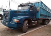 Camion volvo n12 de 4 ejes