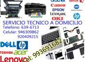 Servicio tÉcnico de laptops a domicilio 993691682