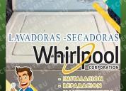 Whirlpool ☞ técnicos de lavadoras en la molina