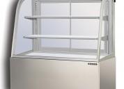 Vitrina exhibidora refrigerada berjaya inoxchef