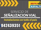 Servicio de seÑalizacion vial cel: 942439351