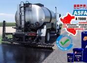 Servicio de asfaltado con imprimacion asfaltica