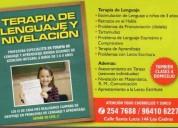 Terapia de lenguaje en chorrillos