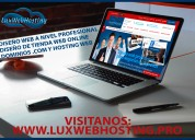 Diseño de paginas web profesional autogestionables