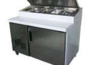 Mesa pizzera refrigerada inoxchef