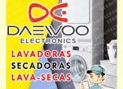 Servicio técnico daewoo reparación de lava secas