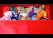 Hugo show infantil: títeres y narrador de cuentas