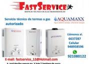 Servicio técnico de termas acumaxx a gas eléctrica