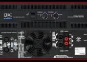 Reparacion  amplificadores profesionales lima peru