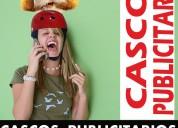 Cascos publicitarios whatsapp: 98115 6396