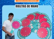 Ruletas publicitarias ventas a todo el perú