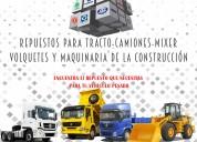 Venta de repuestos de camiones y maquinaria