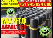 SERVICIO DE IMPERMEABILIZACION Y ASFALTADO