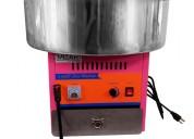 Maquina de algodÓn de azÚcar mizar inoxchef
