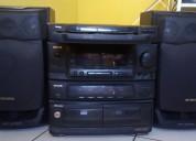 Equipo de sonido aiwa 115w x 2     s/.145