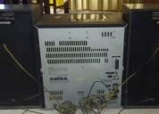 Equipo de sonido aiwa 115w x 2     s/.210