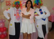 Show para baby shower, doctor claun, payaso, show