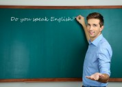 profesor dicta clases de ingles basico americano.