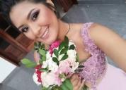 Maquillaje y peinado para:novias,cumpleaños,15 años,shower,bodas,fiestas,fotografias cel:991600039