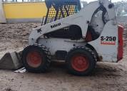 Vendo mini cargador bobcat s-250 2008