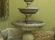 piletas de piedra, fuentes de agua lima
