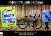 Bicicletas publicitarias para eventos  981156396
