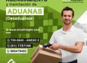 Agenciamiento de aduana y carga internacional