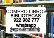 COMPRO LIBROS A DOMICILIO 997052890