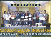Automatizacion - industrial- curso en chincha