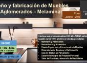 Clases de melamina - nuevos inicios mes de julio