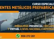 Curso especializado puentes metÁlicos prefabricado