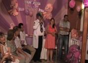 Animacion show doctor claun embarazada baby shower