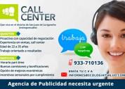 SeÑorita para call center - asesor comercial sjl