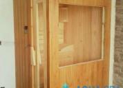 Sauna seco para publico o uso domestico