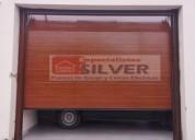 Puertas seccionales modelo importado -silver