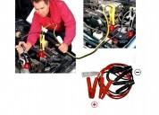 Cable batería para autos pasa corriente 600a