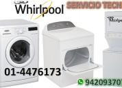 Servicio tecnico lavadoras whirlpool 4476173 lince