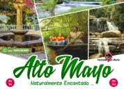 viaje a altomayo tarapoto perú agencia de viajes