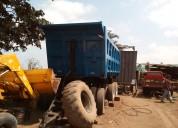 Volquete remolque hidraulico