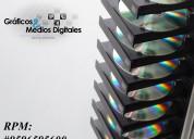 Copias, duplicado cds, dvd, cd card, mini cd, multicopiado