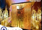 Panel de burbujas, cortina de agua - todo evento