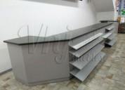 GÓndolas exhibidoras-checkout-muebles de melamina