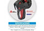 Etiquetadora manual portátil 2 líneas de impresión