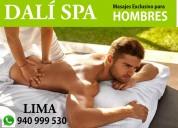 DalÍ spa  masajes terapias depilación  para hombre