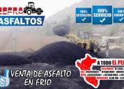 Ahorra tiempo emulsion asfaltica puesto en obra