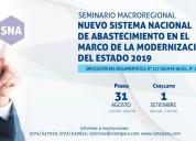 Seminario gratuito macroregional sna